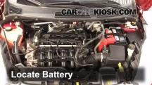2011 Ford Fiesta SE 1.6L 4 Cyl. Sedan Battery