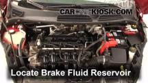 2011 Ford Fiesta SE 1.6L 4 Cyl. Sedan Brake Fluid