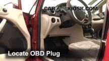 2011 Ford Fiesta SE 1.6L 4 Cyl. Sedan Compruebe la luz del motor
