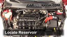 2011 Ford Fiesta SE 1.6L 4 Cyl. Sedan Líquido limpiaparabrisas