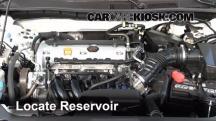 2011 Honda Accord LX 2.4L 4 Cyl. Windshield Washer Fluid