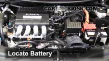 2011 Honda CR-Z EX 1.5L 4 Cyl. Battery