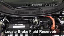 2011 Honda CR-Z EX 1.5L 4 Cyl. Líquido de frenos