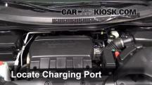 2011 Honda Odyssey EX-L 3.5L V6 Aire Acondicionado
