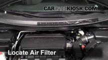2011 Honda Odyssey EX-L 3.5L V6 Air Filter (Engine)