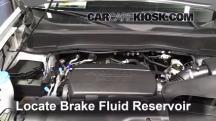 2011 Honda Pilot EX-L 3.5L V6 Brake Fluid