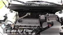 2011 Hyundai Santa Fe GLS 2.4L 4 Cyl. Filtro de aire (motor)