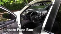 2011 Hyundai Santa Fe GLS 2.4L 4 Cyl. Fusible (interior)