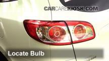 2011 Hyundai Santa Fe GLS 2.4L 4 Cyl. Luces