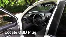 2011 Hyundai Santa Fe GLS 2.4L 4 Cyl. Compruebe la luz del motor