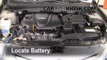 2011 Hyundai Sonata GLS 2.4L 4 Cyl. Batería