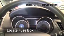2011 Hyundai Sonata GLS 2.4L 4 Cyl. Fusible (interior)