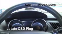 2011 Hyundai Sonata GLS 2.4L 4 Cyl. Compruebe la luz del motor