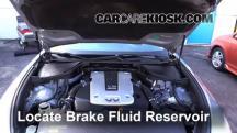 2011 Infiniti M37 X 3.7L V6 Líquido de frenos
