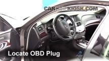 2011 Infiniti M37 X 3.7L V6 Compruebe la luz del motor