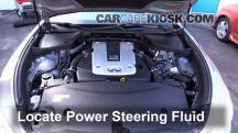 2011 Infiniti M37 X 3.7L V6 Líquido de dirección asistida