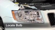 2011 Jeep Compass 2.4L 4 Cyl. Lights