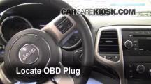 2011 Jeep Grand Cherokee Laredo 3.6L V6 Compruebe la luz del motor