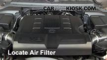 2011 Land Rover LR4 HSE 5.0L V8 Air Filter (Engine)