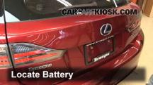 2011 Lexus CT200h 1.8L 4 Cyl. Battery