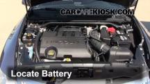 2011 Lincoln MKS 3.7L V6 Battery