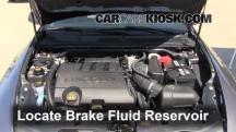 2011 Lincoln MKS 3.7L V6 Líquido de frenos