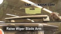 2011 Lincoln Navigator L 5.4L V8 FlexFuel Windshield Wiper Blade (Rear)