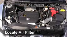 2011 Mazda CX-7 Sport 2.5L 4 Cyl. Air Filter (Engine)