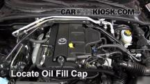 2011 Mazda MX-5 Miata Grand Touring 2.0L 4 Cyl. Aceite