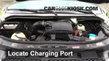 2011 Mercedes-Benz Sprinter 2500 3.0L V6 Turbo Diesel Standard Passenger Van Aire Acondicionado