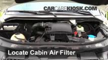 2011 Mercedes-Benz Sprinter 2500 3.0L V6 Turbo Diesel Standard Passenger Van Filtro de aire (interior)
