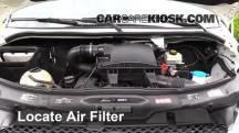 2011 Mercedes-Benz Sprinter 2500 3.0L V6 Turbo Diesel Standard Passenger Van Filtro de aire (motor)