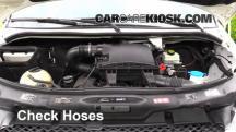 2011 Mercedes-Benz Sprinter 2500 3.0L V6 Turbo Diesel Standard Passenger Van Mangueras