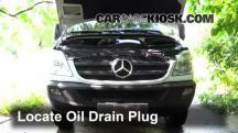 2011 Mercedes-Benz Sprinter 2500 3.0L V6 Turbo Diesel Standard Passenger Van Aceite