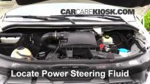 2011 Mercedes-Benz Sprinter 2500 3.0L V6 Turbo Diesel Standard Passenger Van Power Steering Fluid