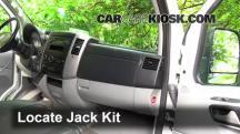 2011 Mercedes-Benz Sprinter 2500 3.0L V6 Turbo Diesel Standard Passenger Van Jack Up Car