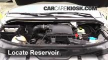 2011 Mercedes-Benz Sprinter 2500 3.0L V6 Turbo Diesel Standard Passenger Van Líquido limpiaparabrisas