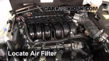 2011 Mitsubishi Endeavor LS 3.8L V6 Air Filter (Engine)