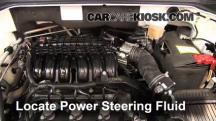 2011 Mitsubishi Endeavor LS 3.8L V6 Power Steering Fluid