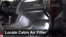 2011 Nissan Altima SR 3.5L V6 Sedan Air Filter (Cabin)