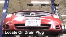 2011 Nissan Altima SR 3.5L V6 Sedan Oil