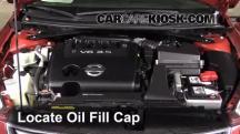 2011 Nissan Altima SR 3.5L V6 Sedan Oil