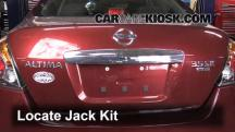 2011 Nissan Altima SR 3.5L V6 Sedan Jack Up Car