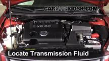 2011 Nissan Altima SR 3.5L V6 Sedan Transmission Fluid
