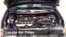 2011 Nissan Cube S 1.8L 4 Cyl. Filtro de aire (motor)