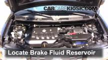 2011 Nissan Cube S 1.8L 4 Cyl. Brake Fluid