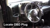 2011 Nissan Cube S 1.8L 4 Cyl. Compruebe la luz del motor