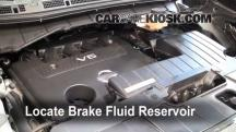 2011 Nissan Quest SL 3.5L V6 Brake Fluid