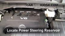 2011 Nissan Quest SL 3.5L V6 Power Steering Fluid