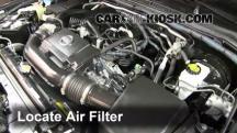 2011 Nissan Xterra S 4.0L V6 Filtro de aire (motor)